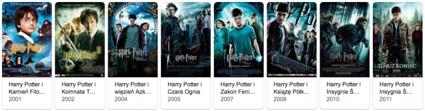 Harry Potter filmy
