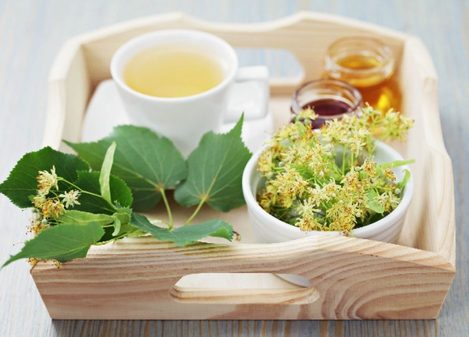 herbata z kwiatu lipy