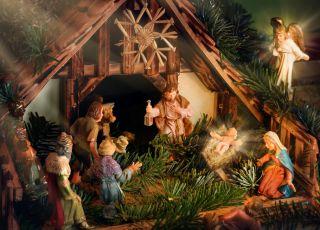 historia szopki bożonarodzeniowej
