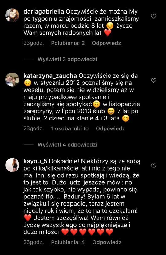 Fanki Agnieszki Kaczorowskiej podzieliły się swoimi miłosnymi historiami