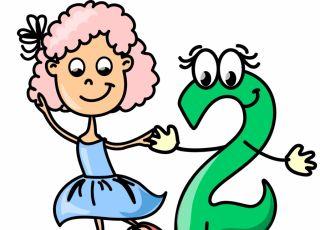 horoskop dla dzieci, numerologia, dwójka