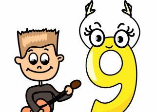 horoskop dla dzieci, numerologia, dziewiątka