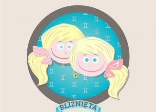 horoskop dla dzieci, znak zodiaku, bliznieta