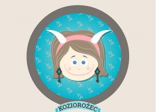 horoskop dla dzieci, znak zodiaku, koziorozec
