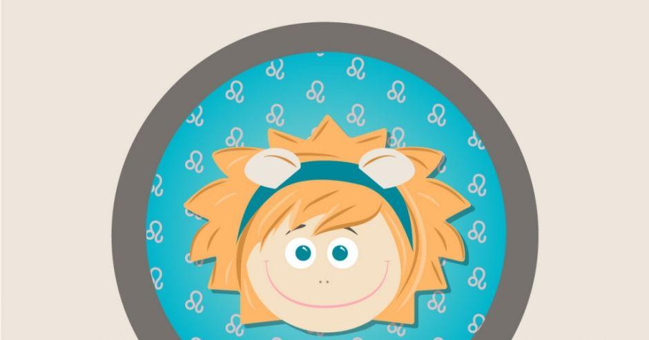horoskop dla dzieci, znak zodiaku, lew