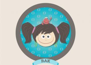 horoskop dla dzieci, znak zodiaku, rak