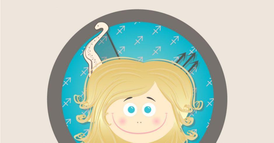 horoskop dla dzieci, znak zodiaku, strzelec