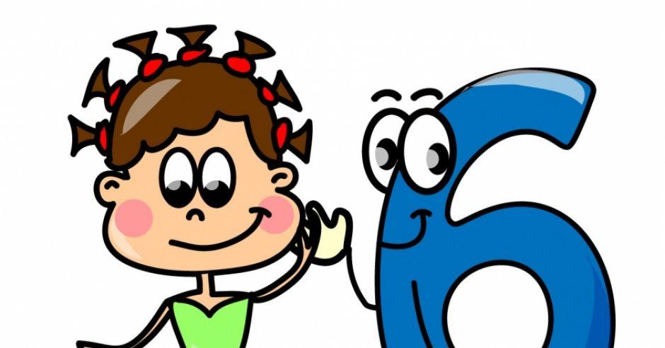 horoskop dla dzieci, znak zodiaku, szóstka