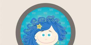 horoskop dla dzieci, znak zodiaku, wodnik