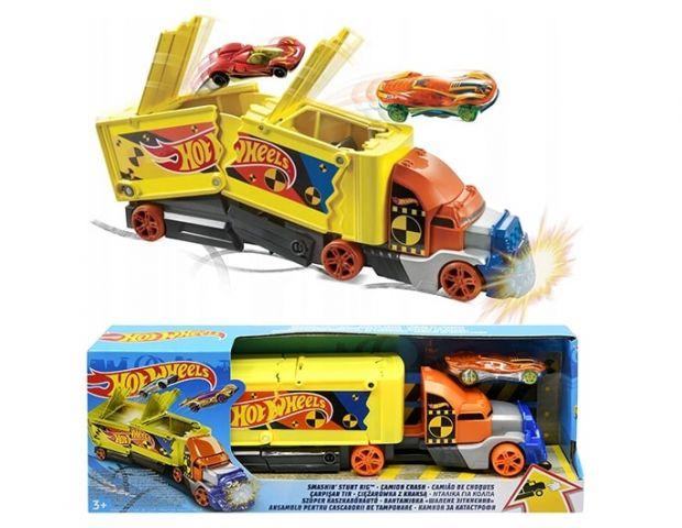 hot wheels ciężarówka
