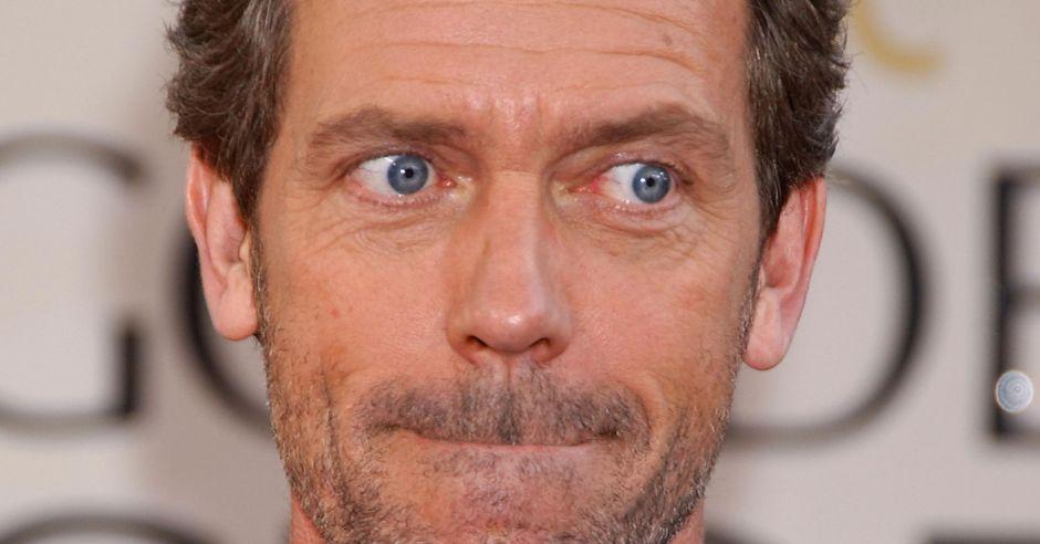 Hugh Laurie, dr House, badanie nasienia, test nasienia, piosenka