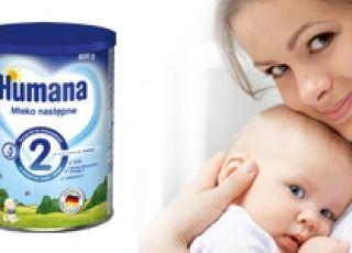 Humana, mleko następne, żywienie niemowląt