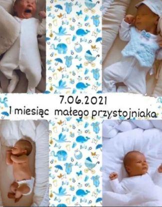 Ida Nowakowska opublikowała kolaż ze zdjęciami synka