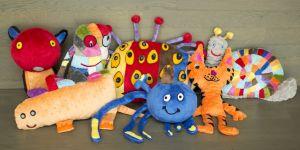 Ikea, zabawki wymyślone przez dzieci, pluszaki