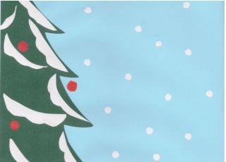 ilustracja do świątecznego opowiadania Emilii Witkowskiej Nery