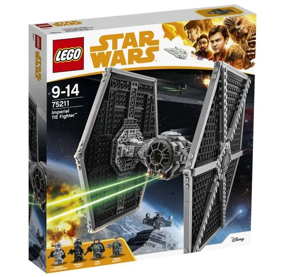 klocki lego star wars myśliwiec imperium