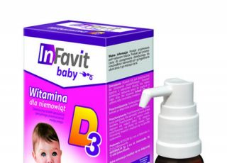 Infavit, witamina D3, witamina D dla niemowląt
