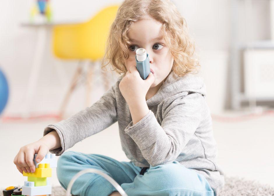 inhalacja, astma, dziecko
