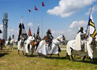 Inscenizacja rocznica bitwy pod Grunwaldem