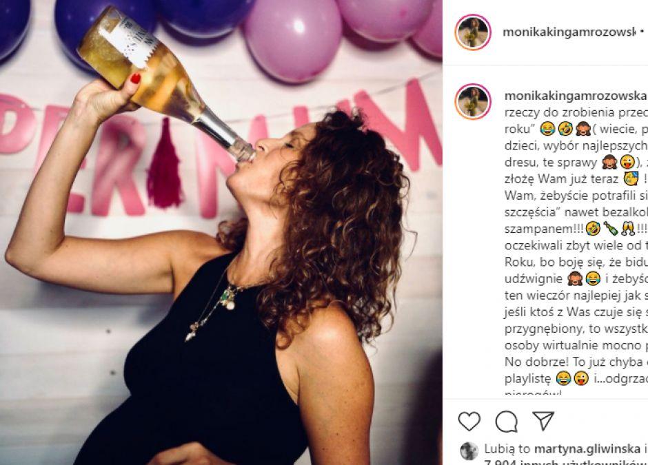 Internauci oburzeni zachowaniem ciężarnej Moniki Mrozowskiej