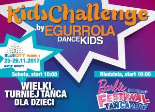 IX edycja Wielkiego Turnieju Tańca Kids Challenge - zapraszają Egurrola Dance Studio i Barbie
