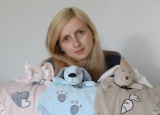 Izabela Sawicka - pomysłodawczyni i projektantka przytulaczy Tuli