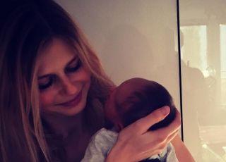 Izabela Zwierzyńska z synem