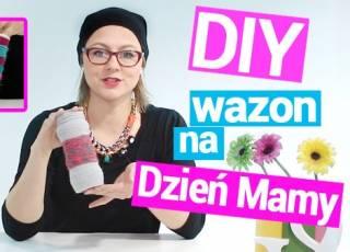 Ja zrobić...?, Agnieszka Szumigaj, wazon z włóczki, Dzień Matki, DIY