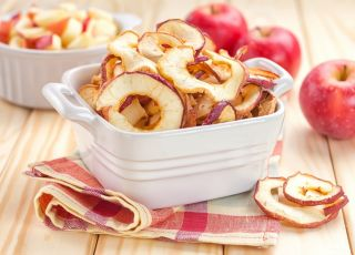 jabłka, suszone, suszone owoce, suszone jabłka