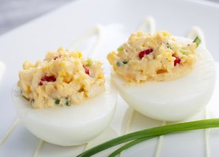 jajka, nadziewane, jaja, wielkanoc