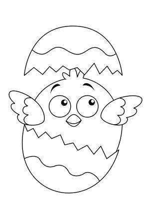 kolorowanki jajko wielkanocne