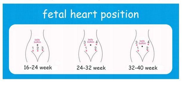 jak badać tętno płodu detektory tętna płodu