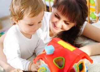 jak fajnie bawić sie z dzieckiem