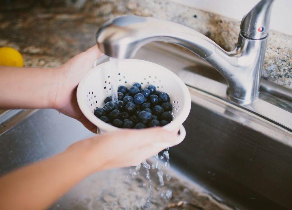 Jak myć jagody?