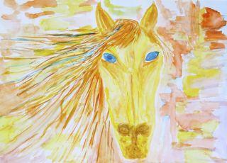 jak narysować konia