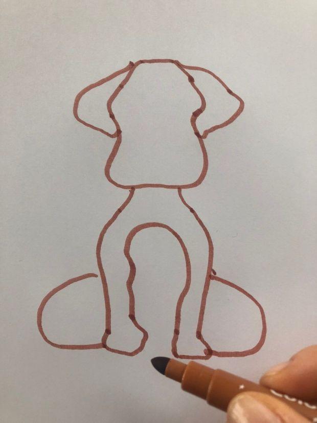 Jak narysować psa - instrukcja
