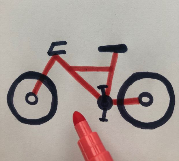 Jak się rysuje rower