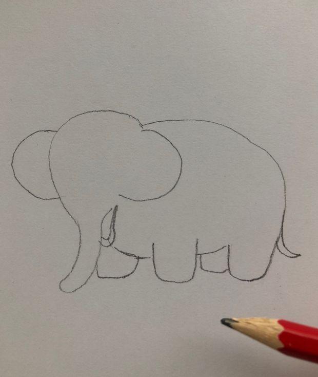 jak się rysuje słonia