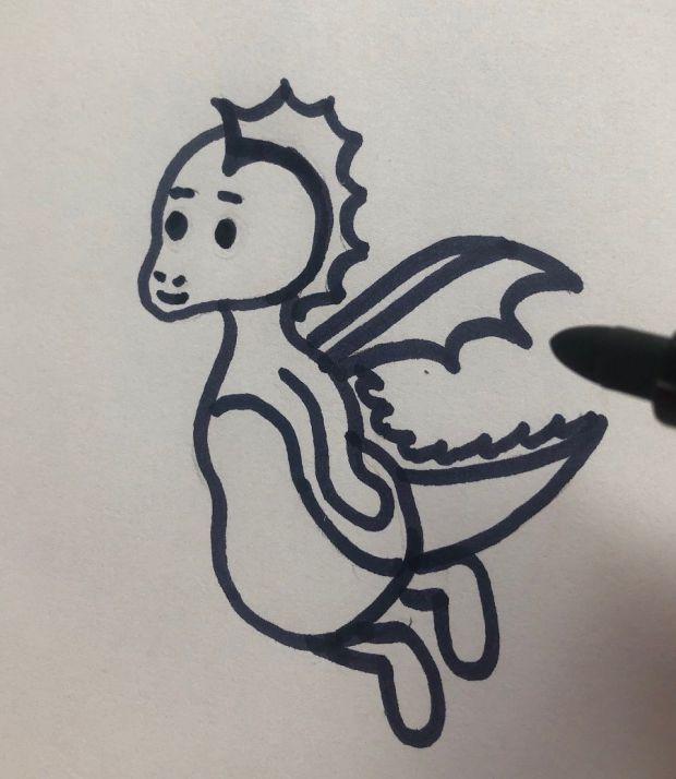 jak narysować smoka