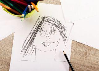 jak narysować twarz