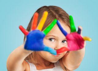 jak nauczyć dziecko kolorów