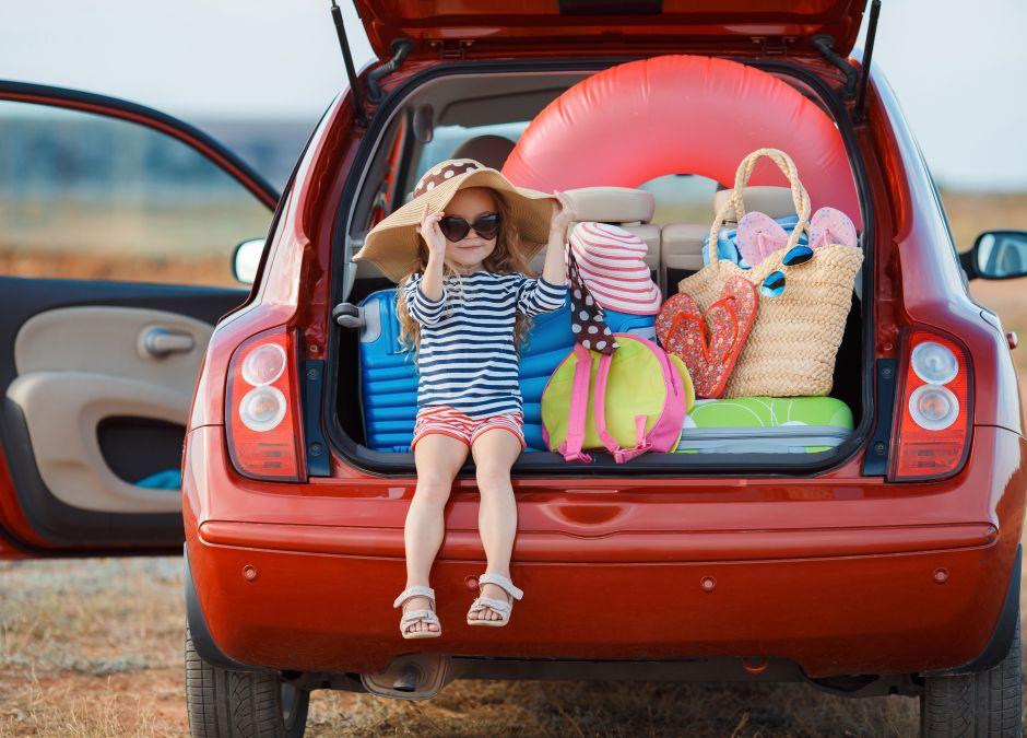 jak spakować dziecko na wakacje