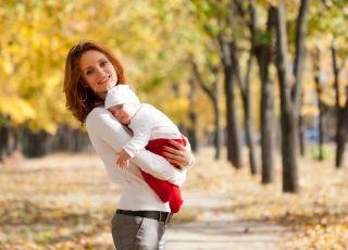 jak ubierać niemowlę jesienią