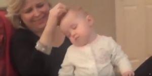 Jak uśpić niemowlę w minutę?
