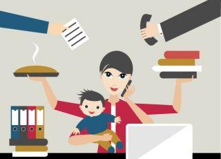 jak wygląda życie pracującej matki