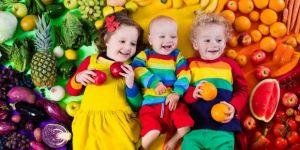 Jak zapewnić dziecku 5 porcji warzyw i owoców