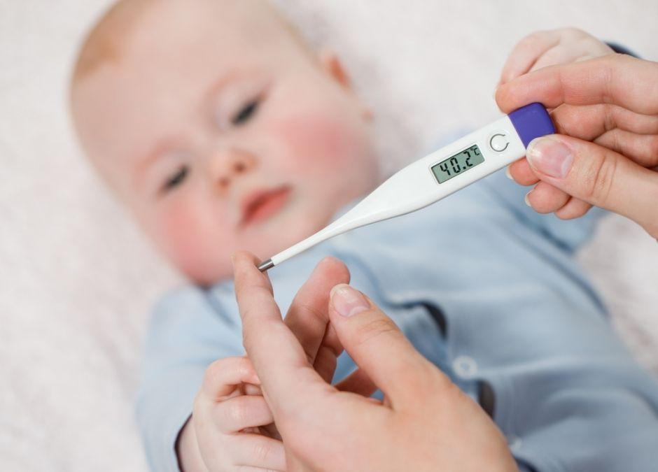 jak zbić gorączkę u dziecka