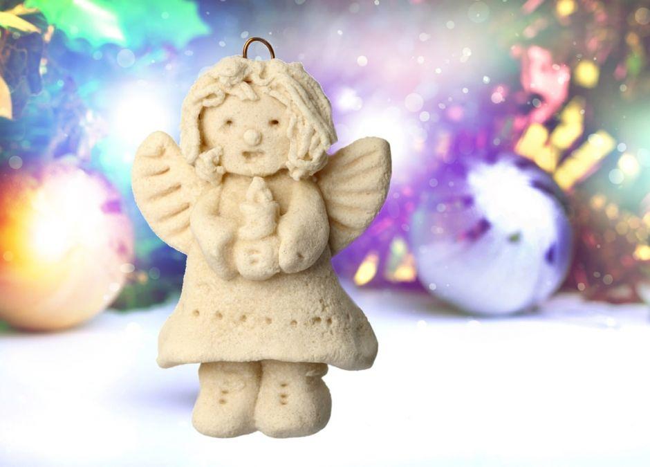 jak zrobić aniołka z masy solnej