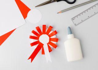 jak zrobić kotylion z papieru