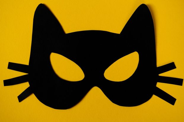 maska kota dla dzieci DIY